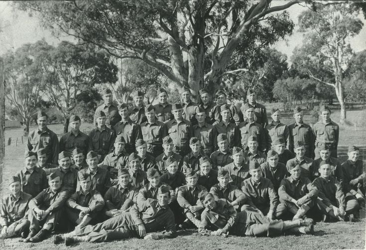 Dunk Island Holidays: Unit Photograph Of 1ST Platoon, Company A, 128TH Infantry