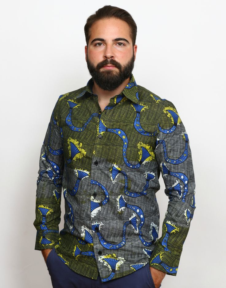 Here we are! Wax print long sleeve shirts http://shop.modafricana.com/products/wax-print-long-sleeve-shirts-1