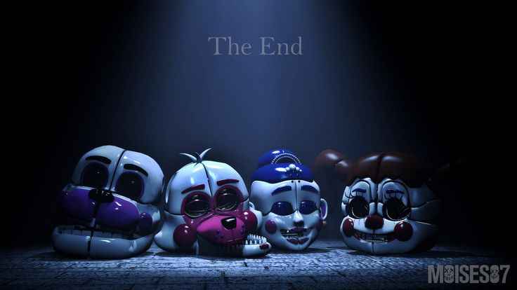 The End (FNaF Sister Location) by Moises87.deviantart.com on @DeviantArt