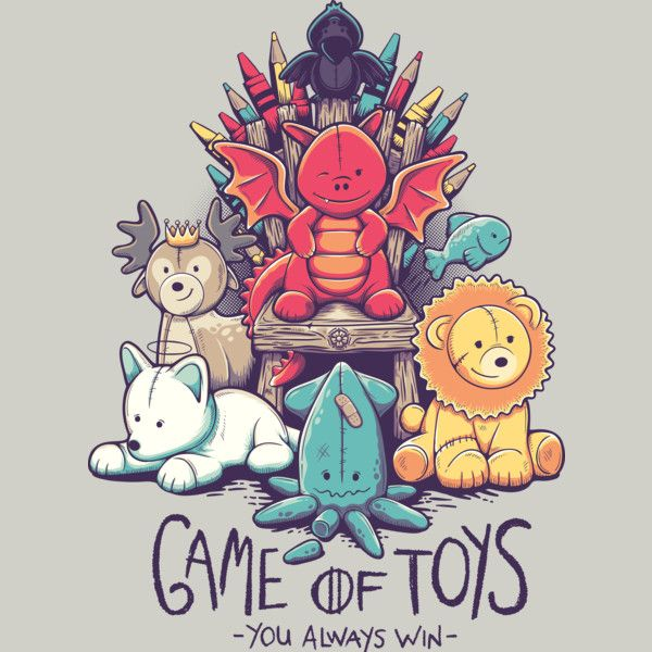 Game of Thrones Fan Art Game of Toys -- I just realized that the kraken has one of its tentacles cut off omg