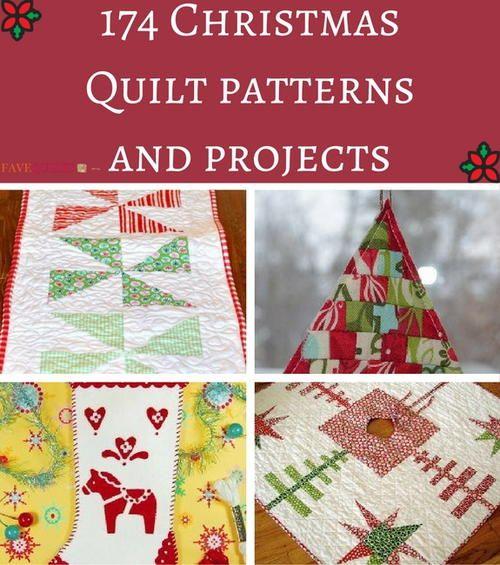 Christmas Tree Table Runner Quilt Pattern: 225 Best Free Christmas Quilt Patterns Images On Pinterest
