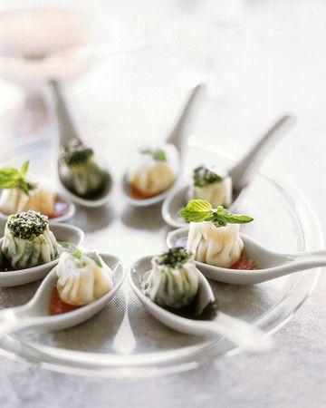 Steamed Ricotta Dumplings  #fingerfood #shopfesta