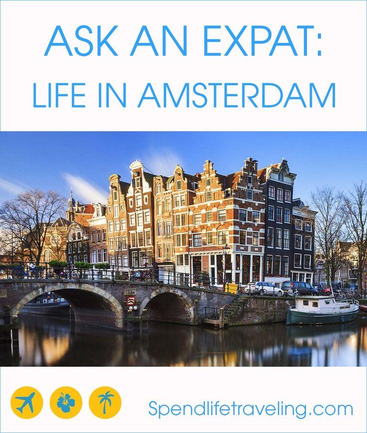 expat life in Amsterdam
