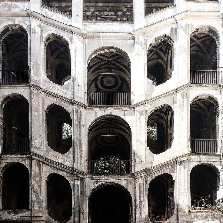 """#staircase as a #stage in #palazzo #sanfelice 