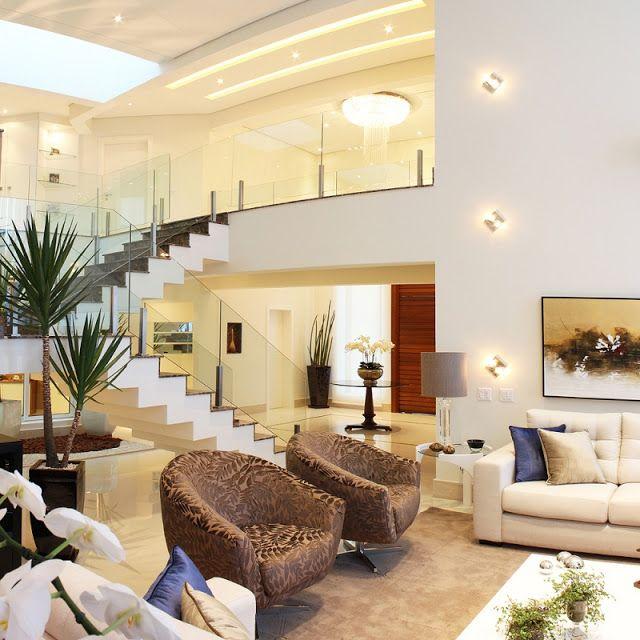 25 melhores ideias de p direito duplo no pinterest for Ambientes casas modernas