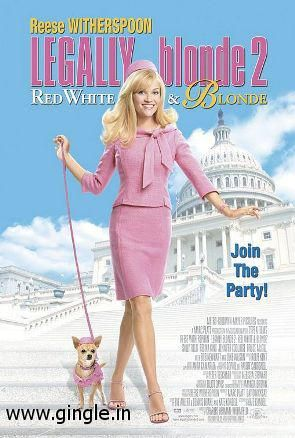 Working direct download link of Legally Blonde 2 Red White And Blonde from http://www.gingle.in/movies/download-Legally-Blonde-2-Red-White-And-Blonde-free-7277.htm. Just click the part1 and part2 buttons. or you can watch it using the watch part1 and watch part2 buttons for free. its the full movie for free.