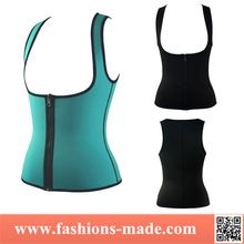2015 New Sport Zipper Neoprene Waist Cincher Vest Best Buy follow this link http://shopingayo.space