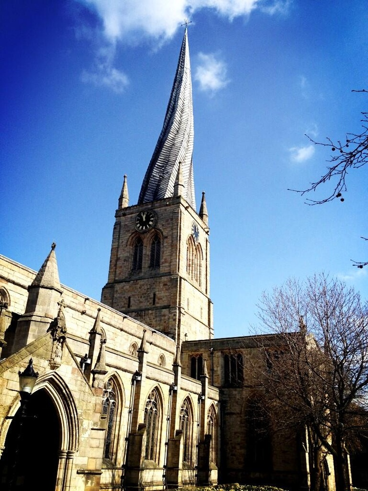 Twitter / earthposts: The Crooked Spire Church. ..Chesterfield England