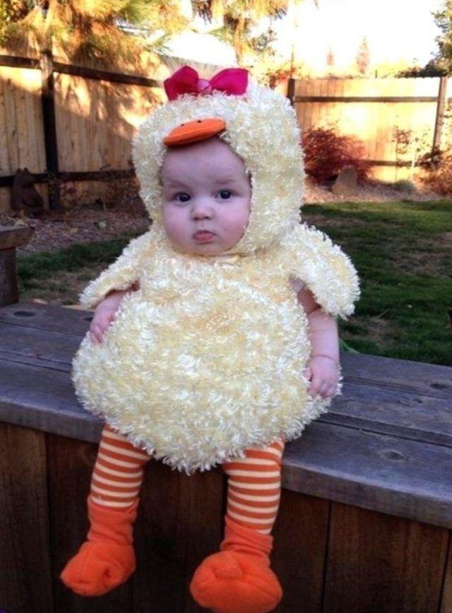 Cute Little Baby Duck Costume