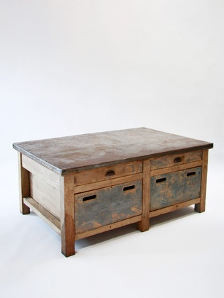 Vintage French coffee table.