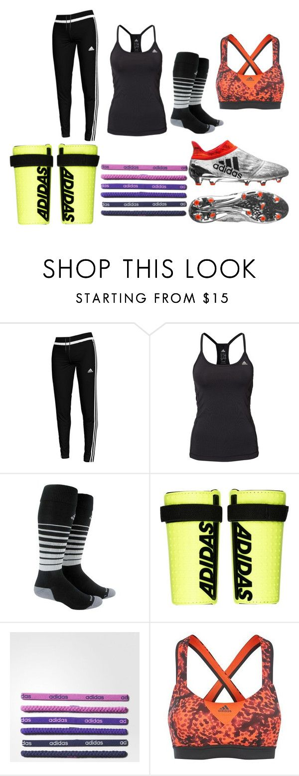 """Soccer Practice"" by afrenier on Polyvore featuring adidas"