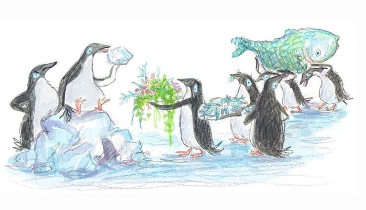 Stacy D. Poole | 'The Penguin Who Loved to Crunch Ice' Illustration by James Brown