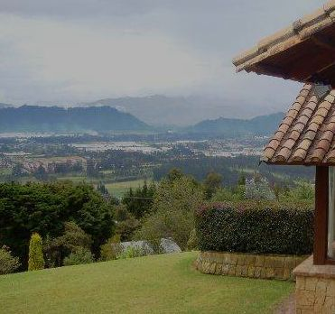 Breathless mountain background frames the Sabana de Bogota, a magnificent place to grow up and enjoy nature at its most.