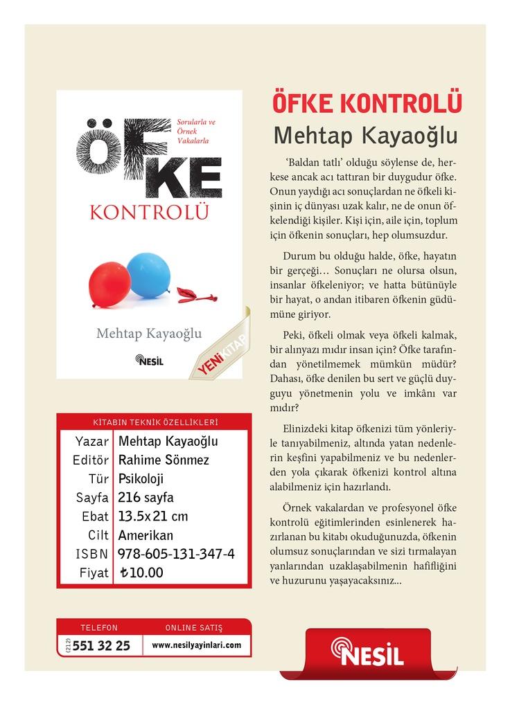 Mehtap Kayaoğlu - Öfke Kontrolü