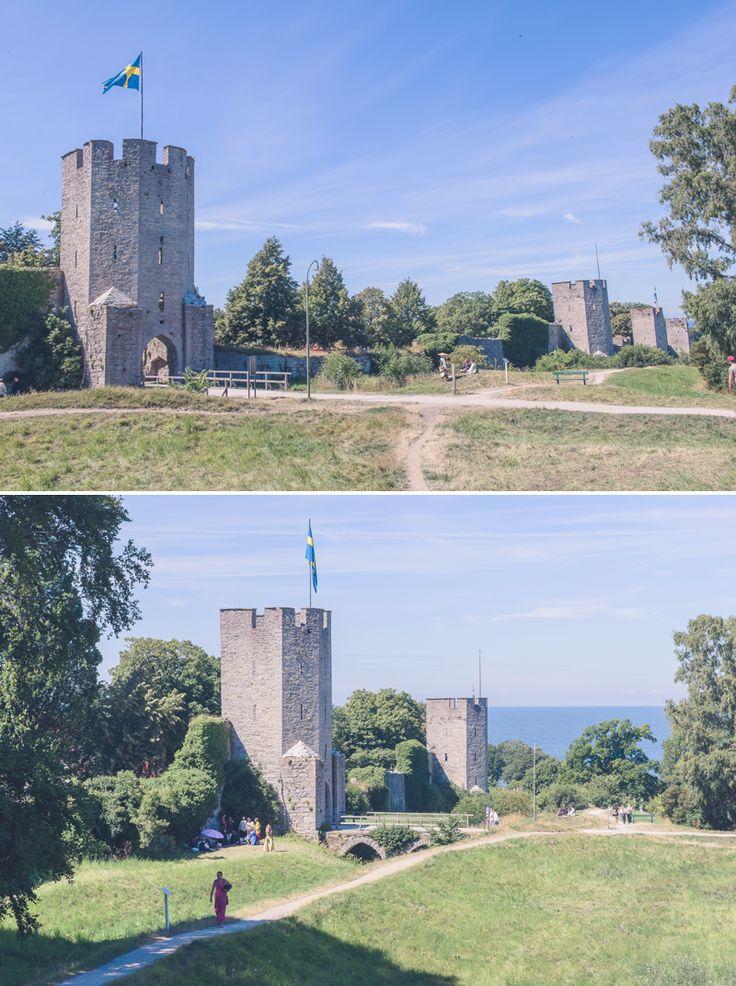 ringmuren visby gotland ringmur medeltiden medeltida marknad mur