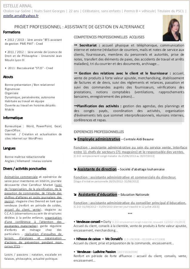 Exemple De Cv Hotellerie Gratuit Resume words, Resume