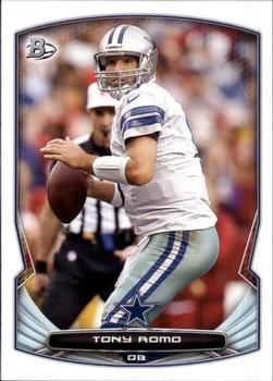 2014 Bowman #69 Tony Romo Front