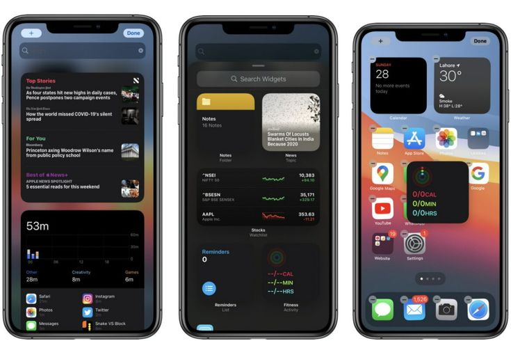 How to add and remove widgets on iphone home screen