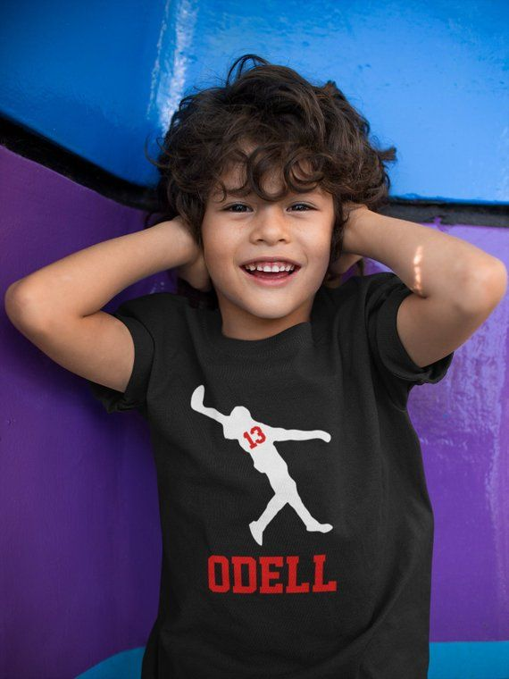 odell beckham shirt kids