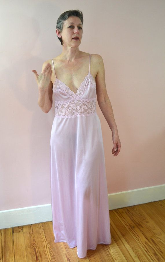 vintage 70s lingerie the fashion place full length