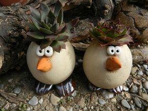 Bildergebnis für Keramikvögel für den Garten   – Fimo
