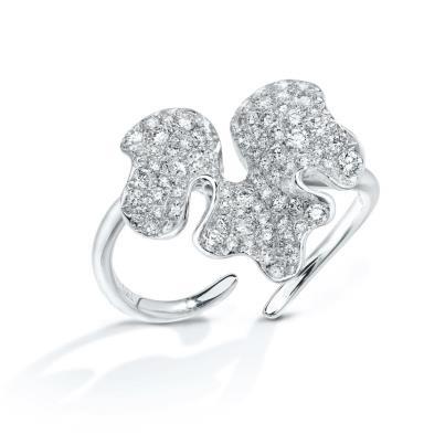 Anna Hu Jewelry  Winter Orchid Ring
