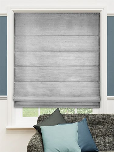 Real Silk Platinum Roman Blind from Blinds 2go