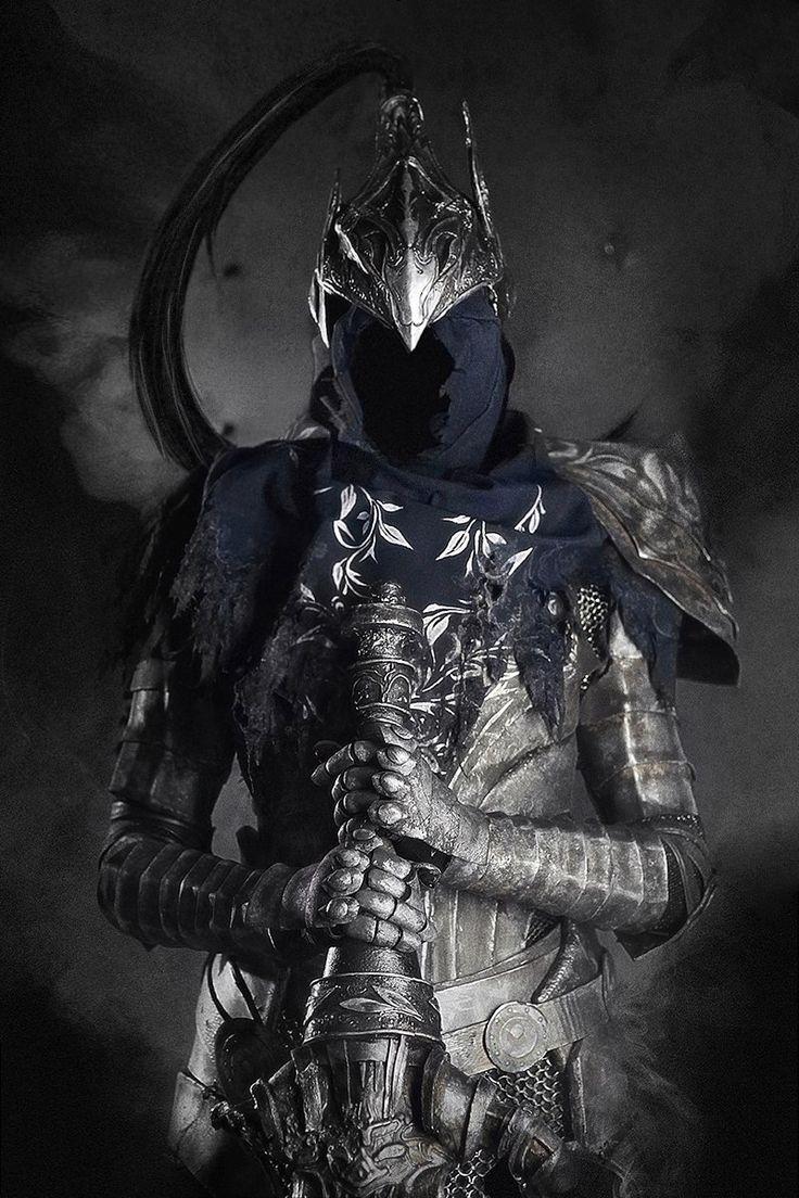 "Cosplayer Zep Hindle as Artorias from ""Dark Souls"""