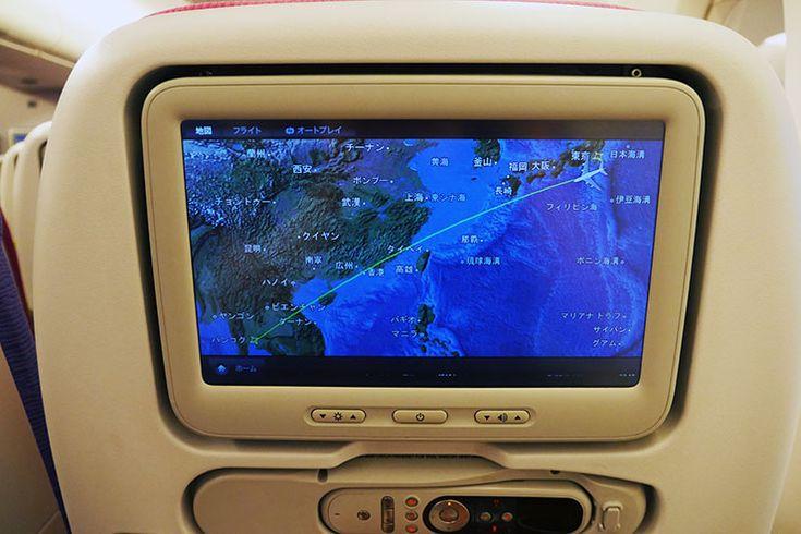 タイ国際航空が優雅すぎてサバーイなくらいヤバイ件 / エコノミーなのに最新映画を巨大スクリーンで鑑賞可能