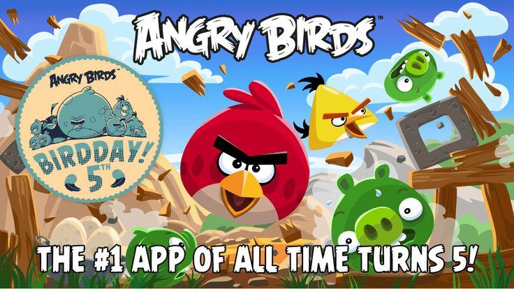 Angry Birds implineste 5 ani, lanseaza BirdDay update (Video)