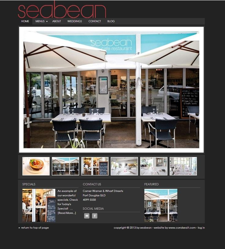 Seabean Tapas Bar & Restaurant - After an owner change Seabean looked for a new website. They are very happy and impressed with a we had created for from friends. With their new site they can upload menus, specials and food photography without having to pay us more. They commented on fresh and clean and easy to use the site is and how it matched their rebranding perfectly and they are so happy with it they'd recommend anyone to us.