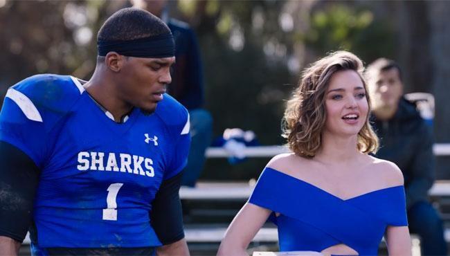 Buick Super Bowl 2017 Ad stars Miranda Kerr and Cam Newton