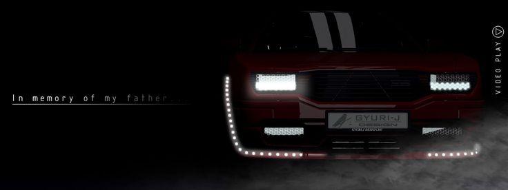 CGI Car Front / 500px