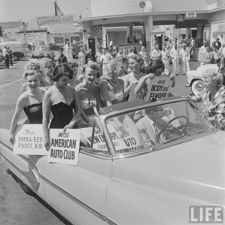 Carros Antigos Car Wash 1951.