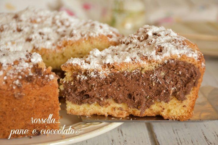Torta bounty cioccolato e cocco