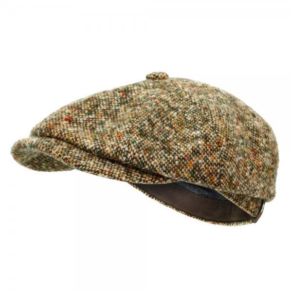 Stetson London Store | Hatteras Donegal Wool Tweed Newsboy Cap
