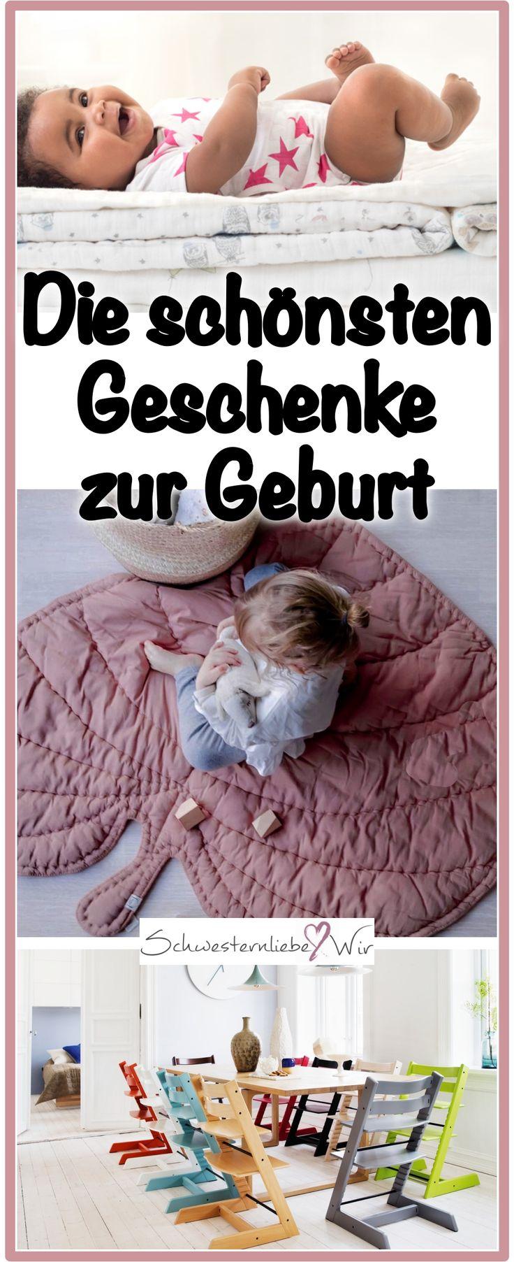 Die schönsten Babygeschenke: das sind die schönsten Geschenke zur Geburt eines Babys. Die Dinge können Eltern garantiert gut gebrauchen.  #schönedinge #baby #geburt #elternsein