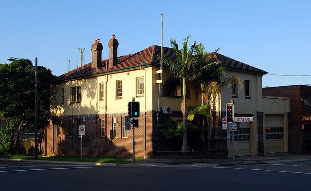 Fire Station, Eastwood, Sydney, NSW,