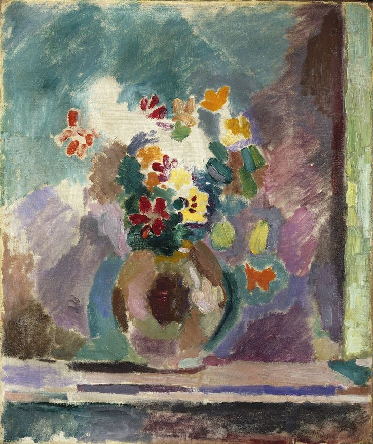 Henri Matisse - Fleurs, 1906