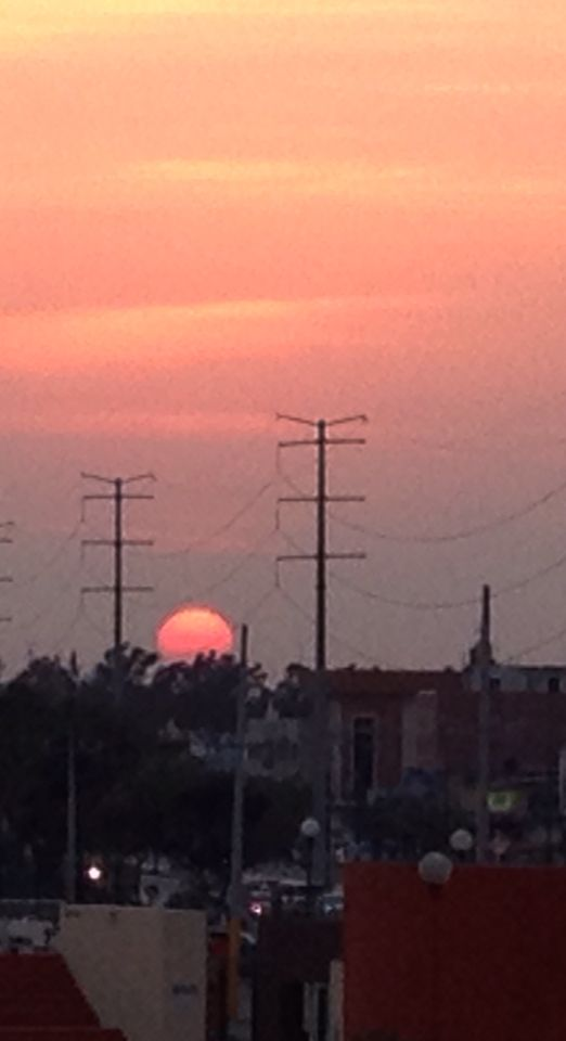 Sunset in Tampico Mex