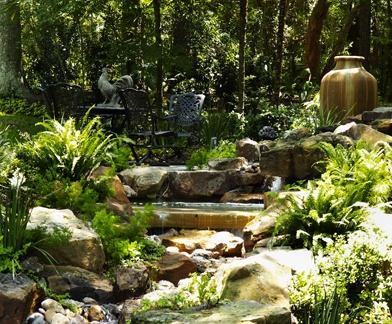 Houston Concrete Fountains Waterfall Fountains Outdoor 640 x 480