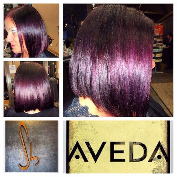 Aveda Hair Color Cut And Done By Christy Bruski