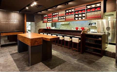 11 best sushi bar design images on pinterest bar designs restaurant design and sushi bar design. Black Bedroom Furniture Sets. Home Design Ideas
