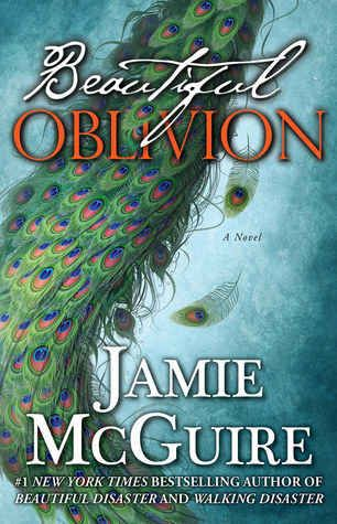 Beautiful Oblivion by Jamie McGuire --A book by a female author.