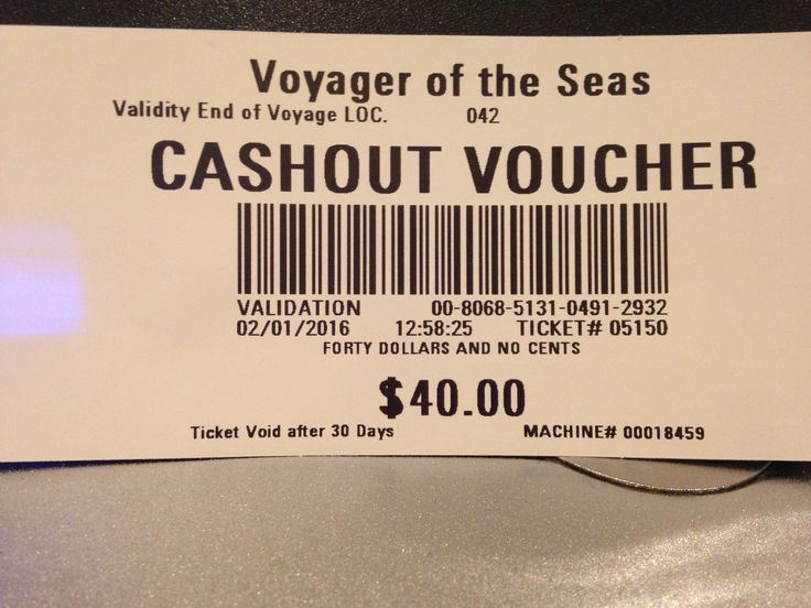 Cash out vouchers for casino. They have double casino points at certain hours and blackjack tournaments. Towards end of cruise they have one or two 'buy twenty dollars in chips, get thirty dollars worth'. 250 casino points gets you a Casino Royal shirt