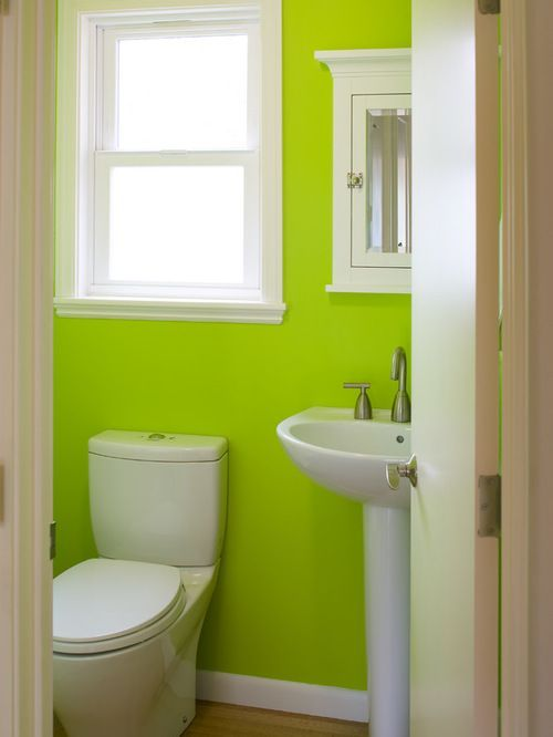 lime green home design ideas pictures remodel and decor - Lime Green Bath Decor