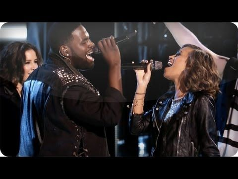 Amanda and Trevin: Marry the Night - #TheVoice