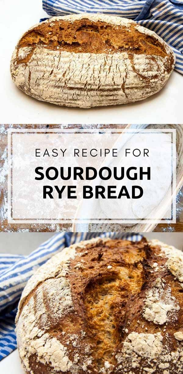 This recipe for a sourdough rye bread is quite simple. But it will give you bread with lots of taste and character from the rye.