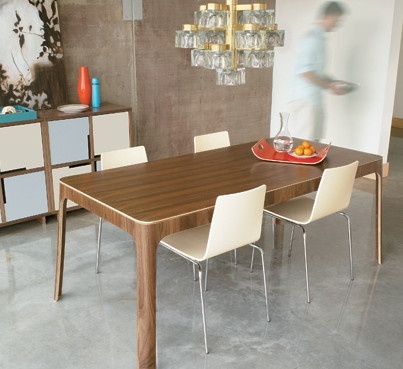 Square Table By Bludot