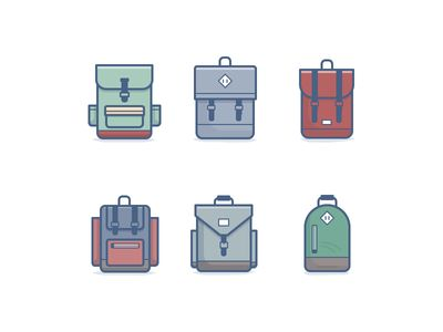 Backpack Icons